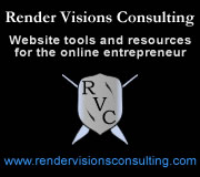 Ad for Render Visions Consulting